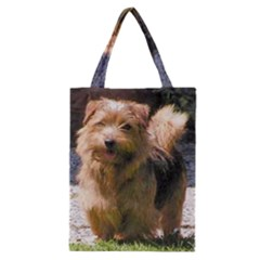 Norfolk Terrier Full Classic Tote Bags