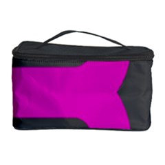Pink Grey Abstract  Cosmetic Storage Cases