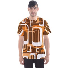 Retro Pattern 1971 Orange Men s Sport Mesh Tees