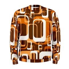 Retro Pattern 1971 Orange Men s Sweatshirts