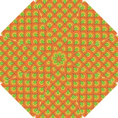 70s Green Orange Pattern Golf Umbrellas