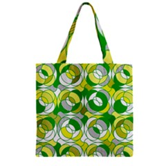 The 70s Zipper Grocery Tote Bags