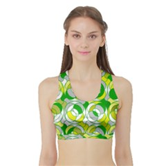The 70s Women s Sports Bra with Border