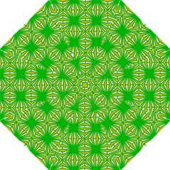 Retro Green Pattern Folding Umbrellas