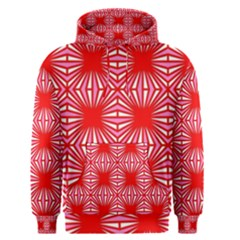 Retro Red Pattern Men s Pullover Hoodies