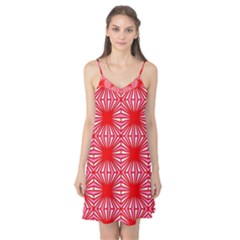 Retro Red Pattern Camis Nightgown