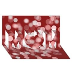 Modern Bokeh 11 MOM 3D Greeting Card (8x4)