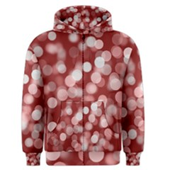 Modern Bokeh 11 Men s Zipper Hoodies