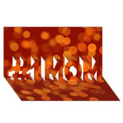 Modern Bokeh 12 #1 MOM 3D Greeting Cards (8x4)