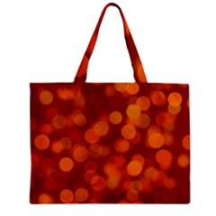 Modern Bokeh 12 Zipper Tiny Tote Bags