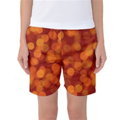 Modern Bokeh 12 Women s Basketball Shorts