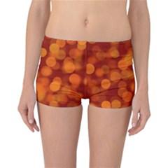 Modern Bokeh 12 Reversible Boyleg Bikini Bottoms