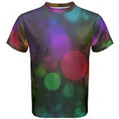 Modern Bokeh 15 Men s Cotton Tees