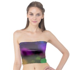 Modern Bokeh 15 Women s Tube Tops