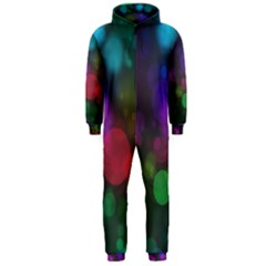 Modern Bokeh 15 Hooded Jumpsuit (Men)