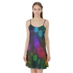 Modern Bokeh 15 Satin Night Slip
