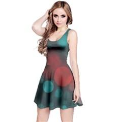 Modern Bokeh 15b Reversible Sleeveless Dresses