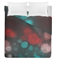 Modern Bokeh 15b Duvet Cover (full/queen Size)