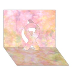 Softly Lights, Bokeh Ribbon 3d Greeting Card (7x5)