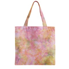 Softly Lights, Bokeh Zipper Grocery Tote Bags