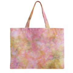 Softly Lights, Bokeh Zipper Tiny Tote Bags