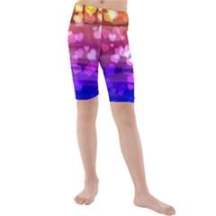 Lovely Hearts, Bokeh Kid s swimwear