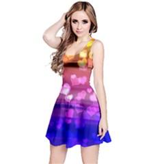 Lovely Hearts, Bokeh Reversible Sleeveless Dresses