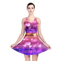 Lovely Hearts, Bokeh Reversible Skater Dresses
