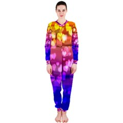 Lovely Hearts, Bokeh OnePiece Jumpsuit (Ladies)
