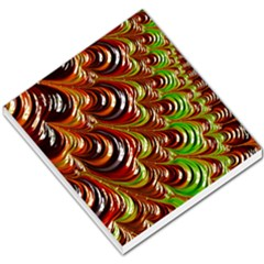 Special Fractal 31 Green,brown Small Memo Pads
