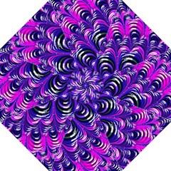 Special Fractal 31pink,purple Folding Umbrellas