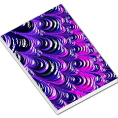 Special Fractal 31pink,purple Large Memo Pads