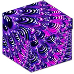 Special Fractal 31pink,purple Storage Stool 12