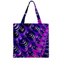 Special Fractal 31pink,purple Grocery Tote Bags