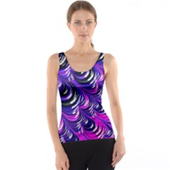 Special Fractal 31pink,purple Tank Tops