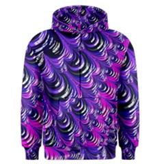 Special Fractal 31pink,purple Men s Zipper Hoodies