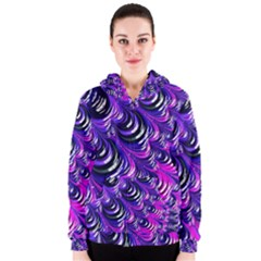 Special Fractal 31pink,purple Women s Zipper Hoodies