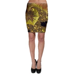 Special Fractal 35cp Bodycon Skirts