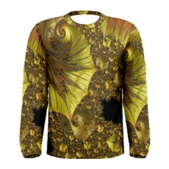 Special Fractal 35cp Men s Long Sleeve T-shirts