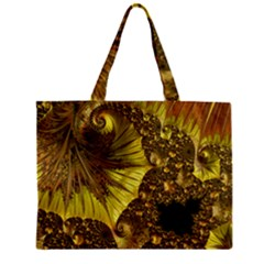 Special Fractal 35cp Zipper Tiny Tote Bags