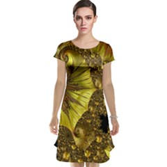 Special Fractal 35cp Cap Sleeve Nightdresses