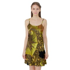 Special Fractal 35cp Satin Night Slip