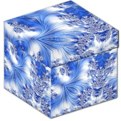 Special Fractal 17 Blue Storage Stool 12