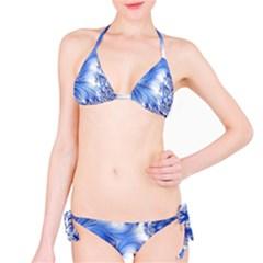 Special Fractal 17 Blue Bikini Set