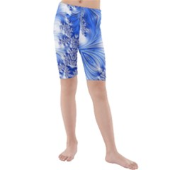 Special Fractal 17 Blue Kid s swimwear