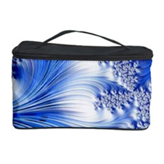Special Fractal 17 Blue Cosmetic Storage Cases