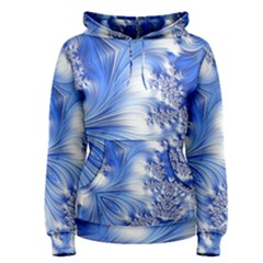 Special Fractal 17 Blue Women s Pullover Hoodies