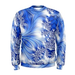 Special Fractal 17 Blue Men s Sweatshirts
