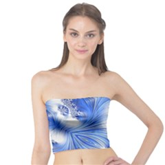 Special Fractal 17 Blue Women s Tube Tops