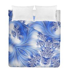 Special Fractal 17 Blue Duvet Cover (twin Size)